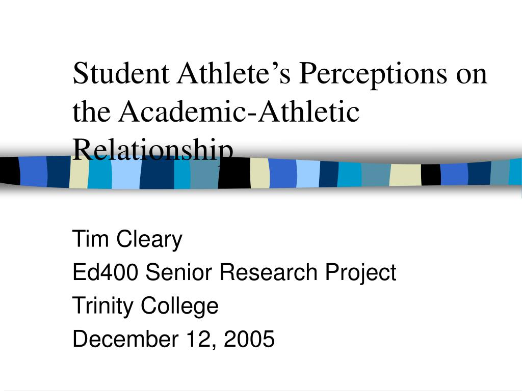 student athlete s perceptions on the academic athletic relationship l.