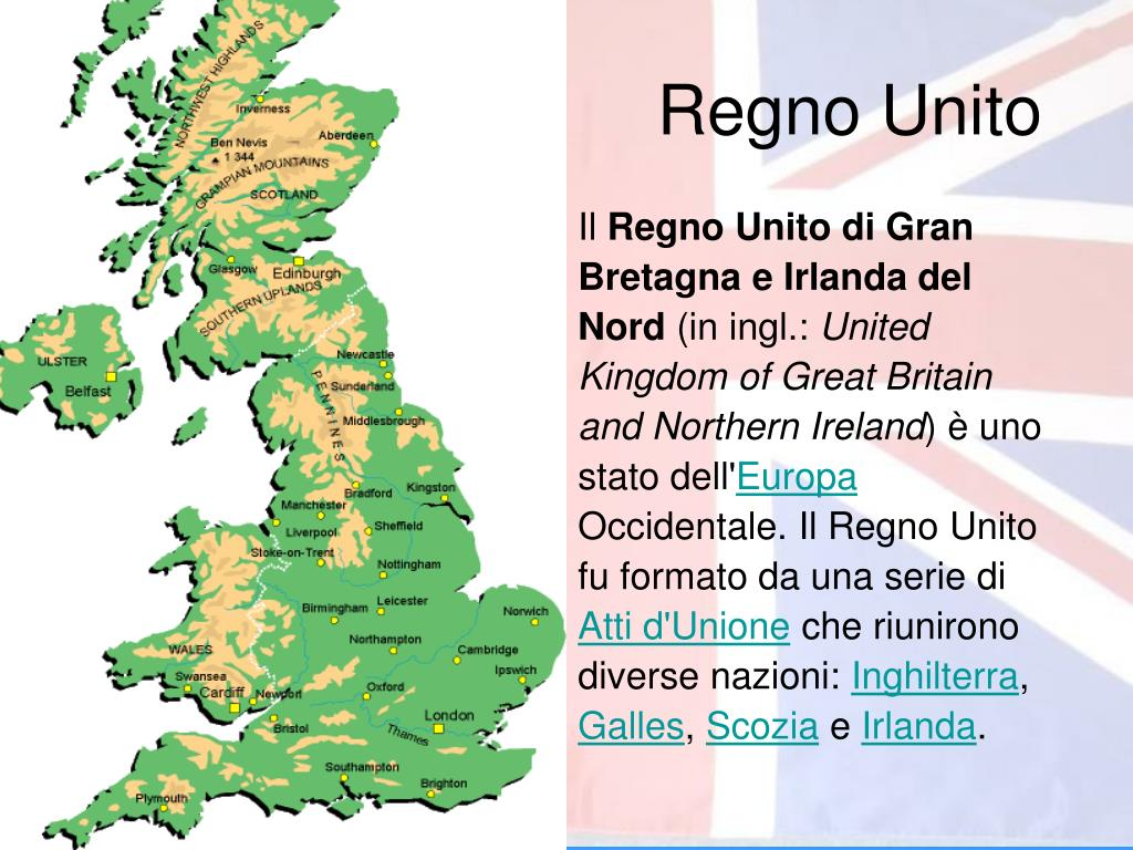 PPT - Regno Unito PowerPoint Presentation, free download - ID:428258