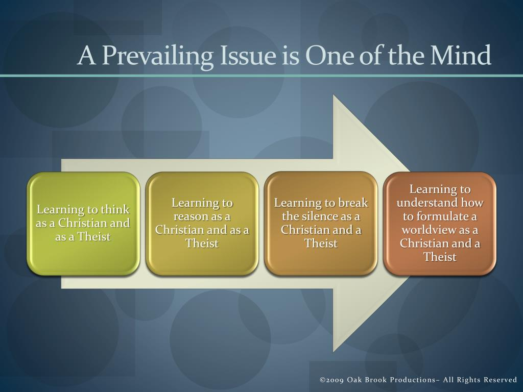 A Prevailing Issue is One of the Mind
