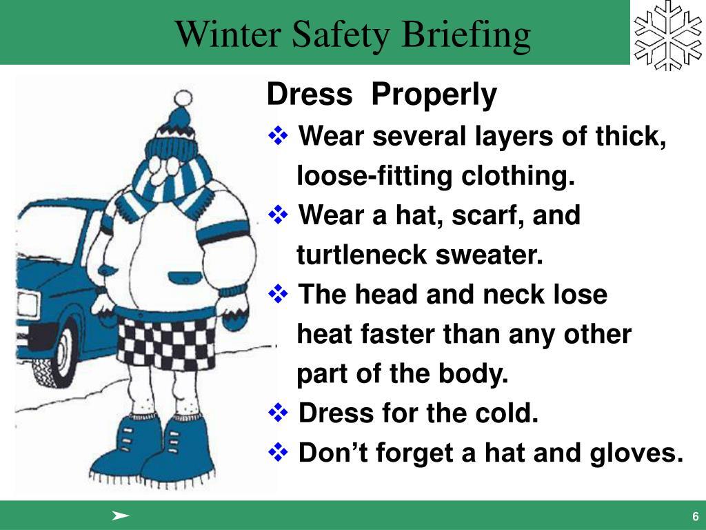Dress  Properly