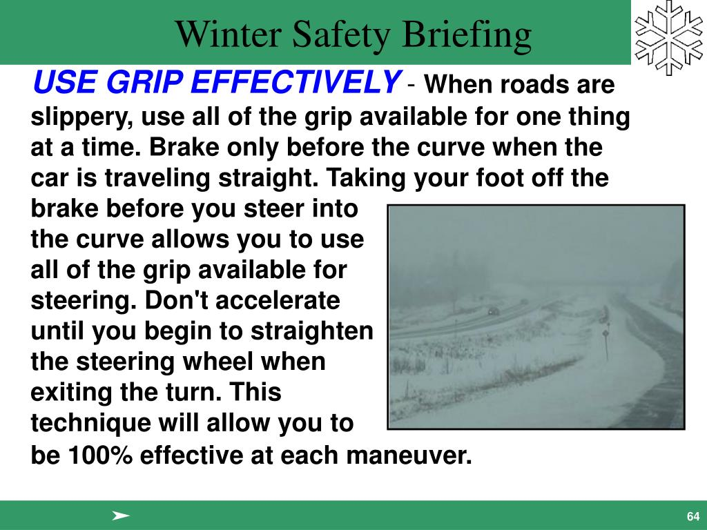 USE GRIP EFFECTIVELY