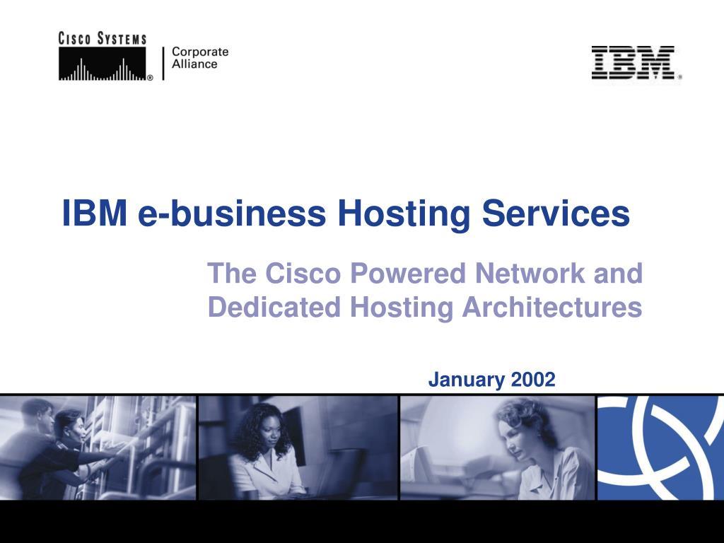 ibm e business hosting services l.