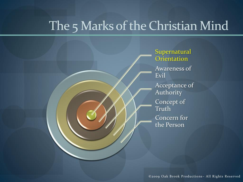 The 5 Marks of the Christian Mind