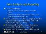 data analysis and reporting18