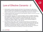lore of effective consents 2