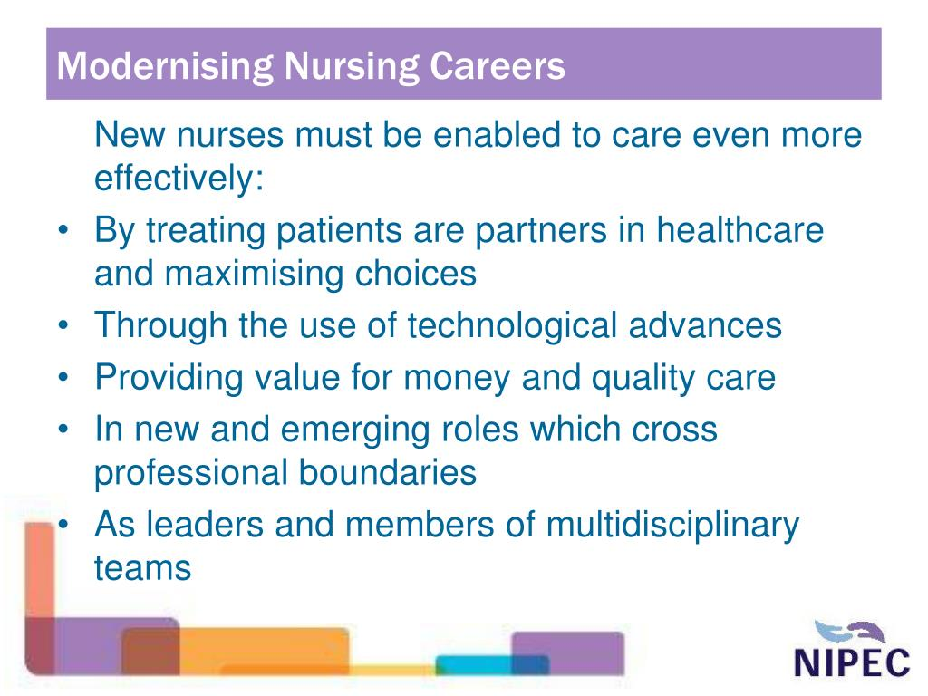 Modernising Nursing Careers