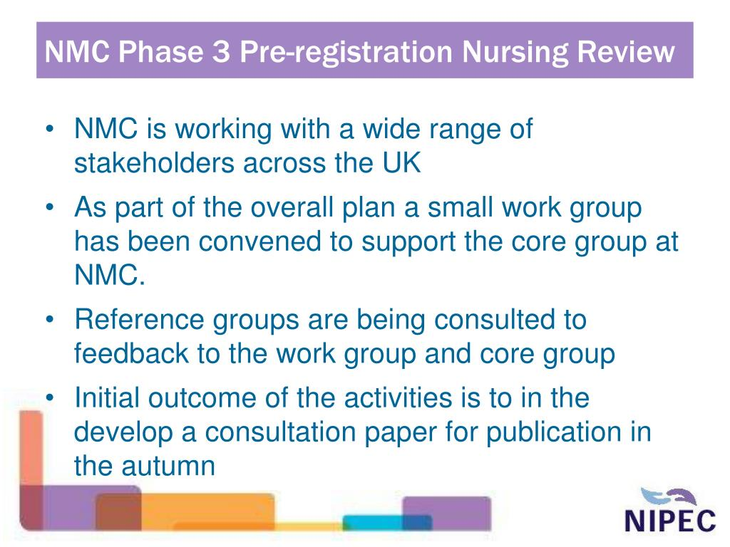 NMC Phase 3 Pre-registration Nursing Review