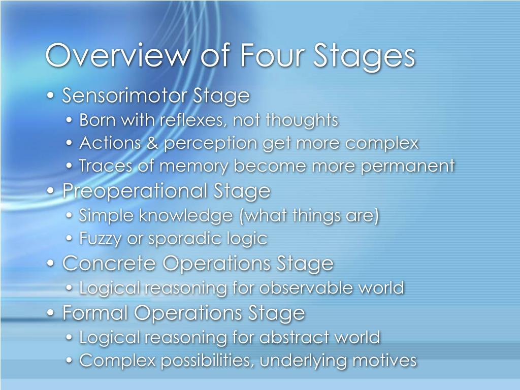 Overview of Four Stages