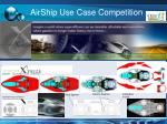 airship use case competition