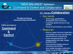 new balance between command control and collaboration6