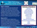 open technology business center otbc