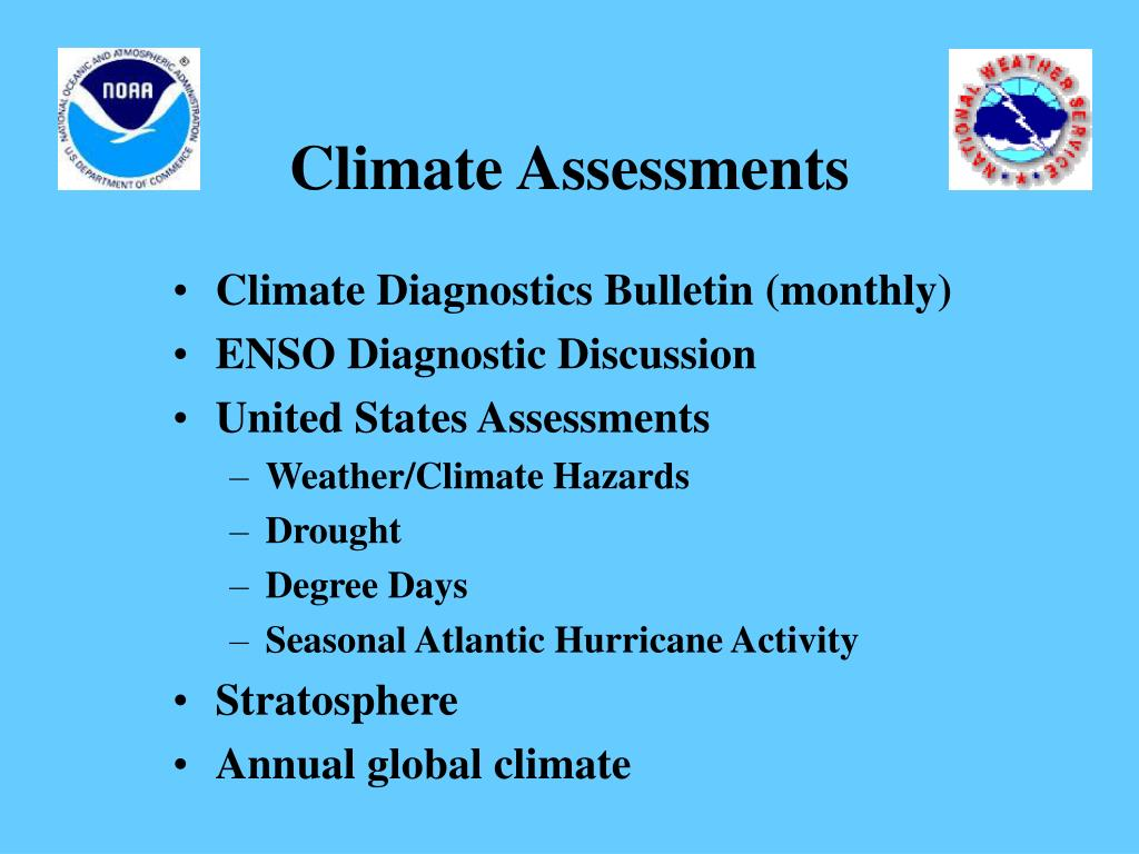 Climate Assessments