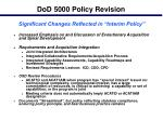 dod 5000 policy revision15