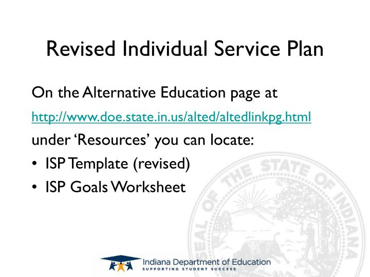 PPT - GOAL WRITING FOR INDIVIDUAL SERVICE PLANS PowerPoint ...