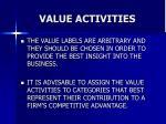 value activities31