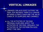 vertical linkages