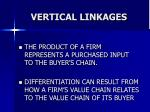 vertical linkages45