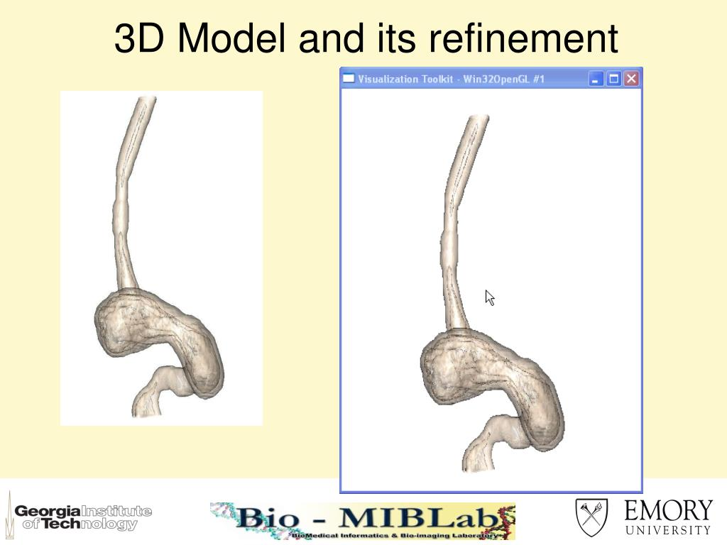 3D Model and its refinement