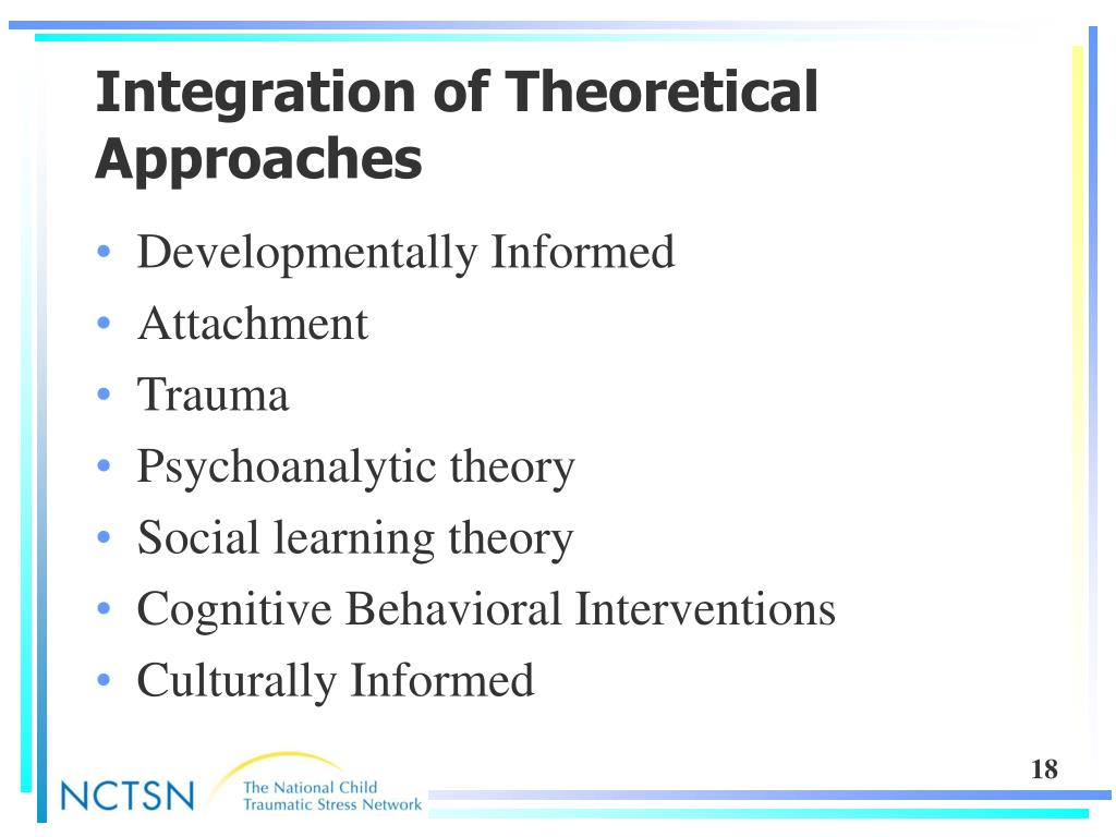 Integration of Theoretical Approaches
