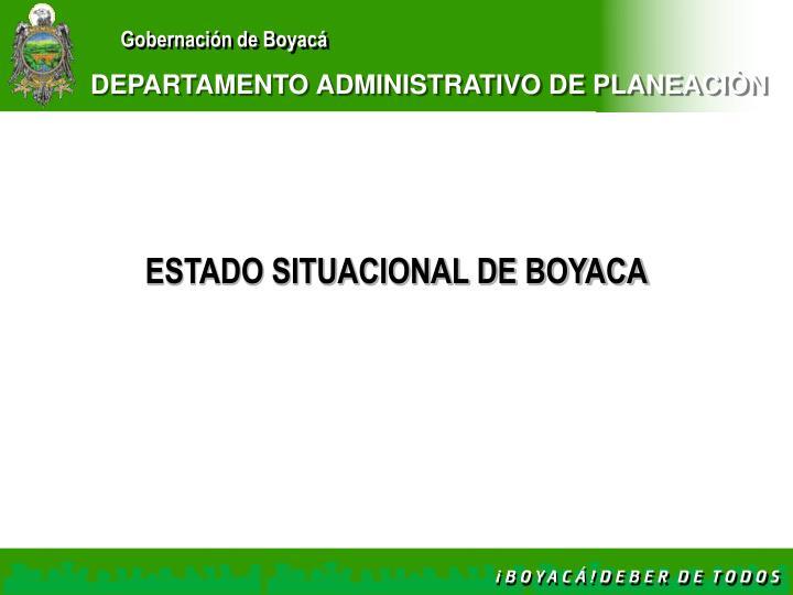 Departamento administrativo de planeaci n