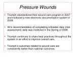 pressure wounds