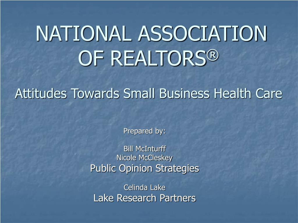 national association of realtors l.
