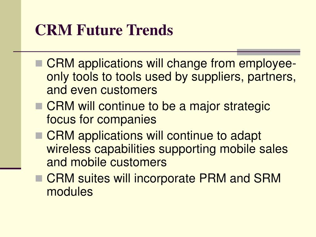 CRM Future Trends