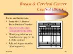 breast cervical cancer control bccc56