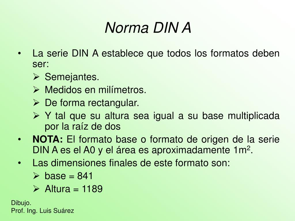 Norma DIN A