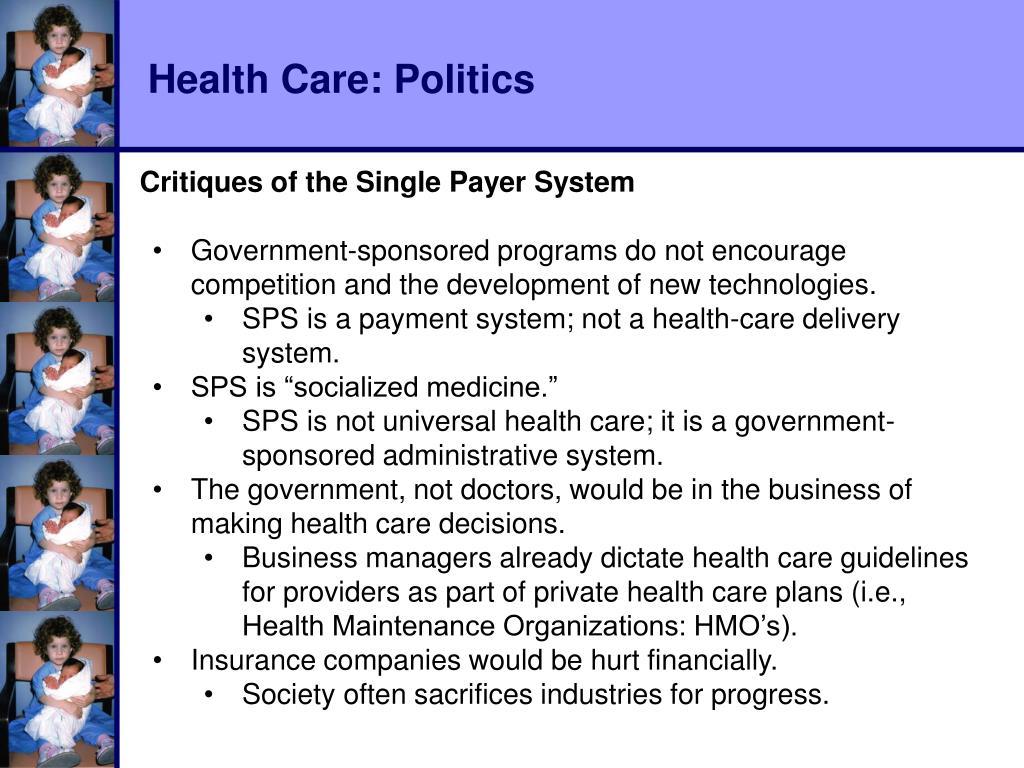 Health Care: Politics
