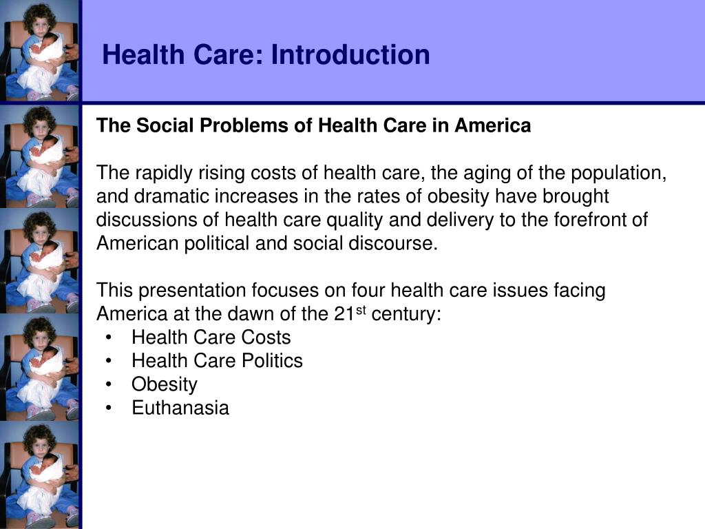Health Care: Introduction