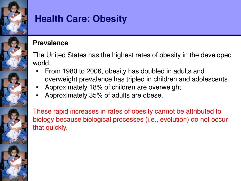 Health Care: Obesity