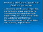 increasing workforce capacity for quality improvement37