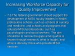 increasing workforce capacity for quality improvement38
