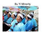 bu yi minority
