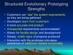 structured evolutionary prototyping strengths