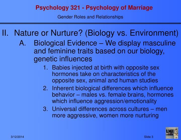 gender and environment ppt