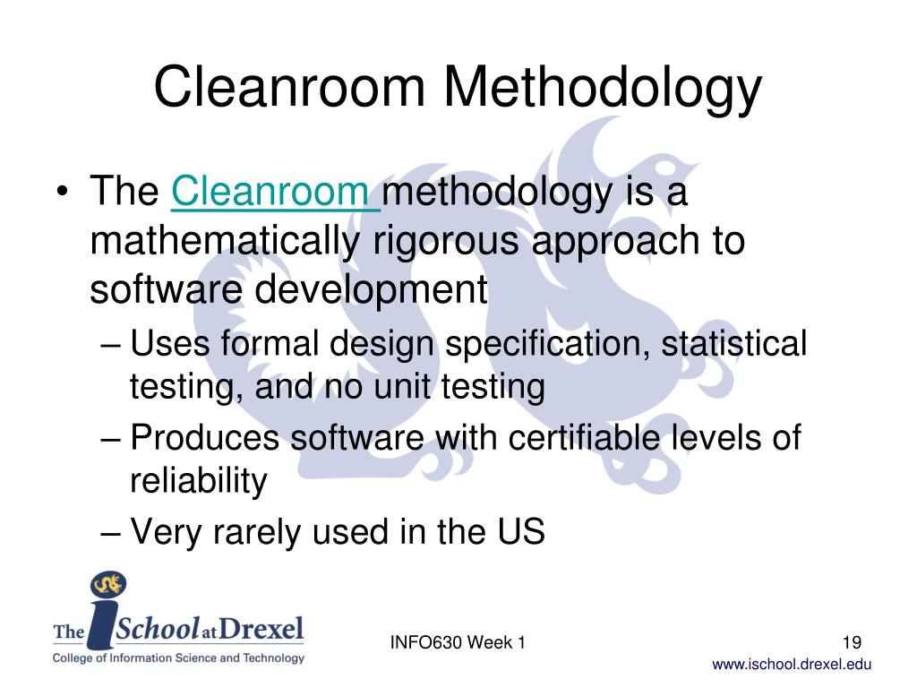 Cleanroom Methodology