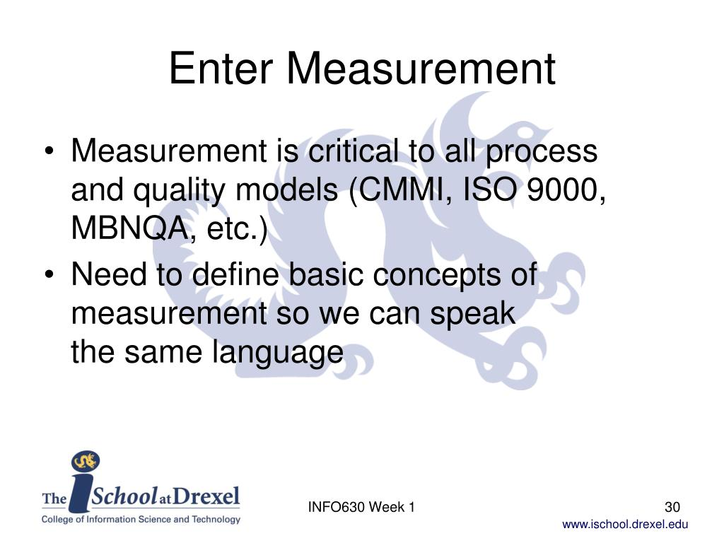 Enter Measurement