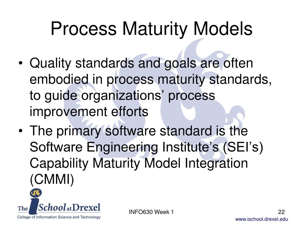 Process Maturity Models
