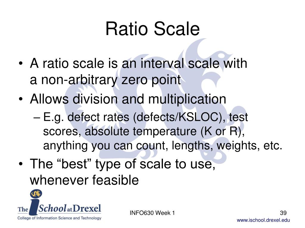 Ratio Scale