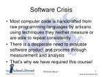 software crisis7