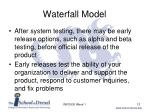 waterfall model13