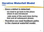 iterative waterfall model cont34