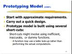 prototyping model cont43