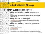 industry search strategy10