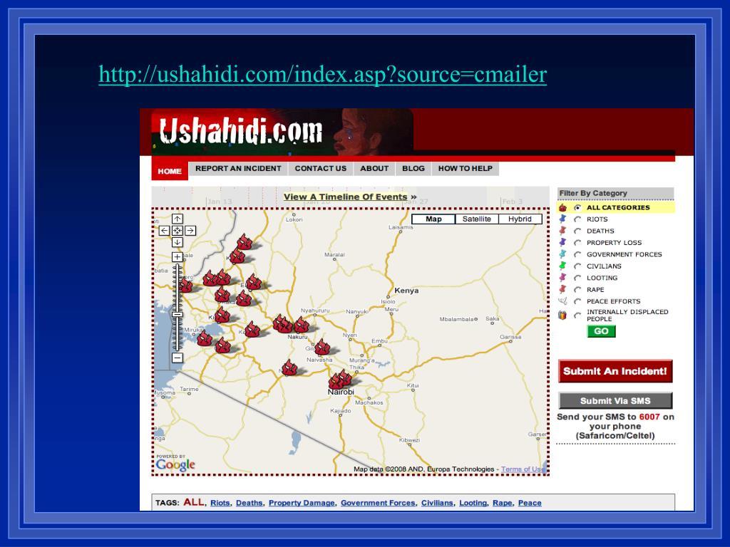 http://ushahidi.com/index.asp?source=cmailer