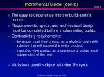 incremental model contd21