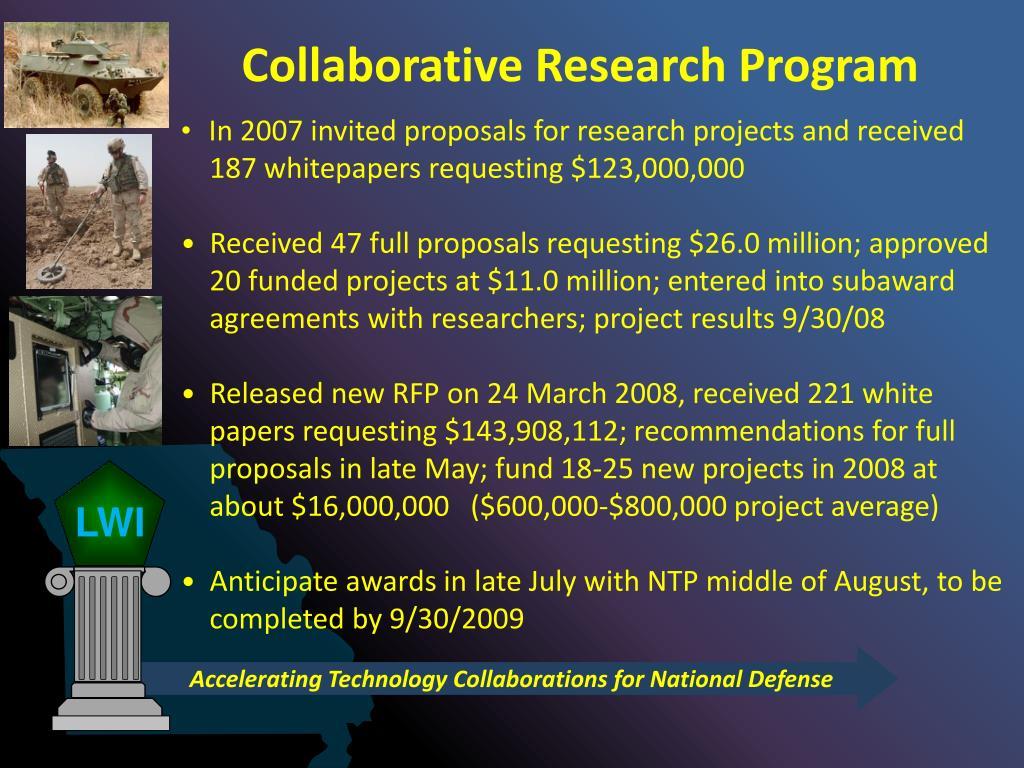 Collaborative Research Program
