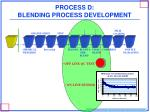 process d blending process development
